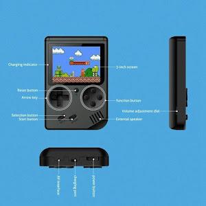 Consola de jocuri video, portabila, Retro Mini Gameboy 400 in 1
