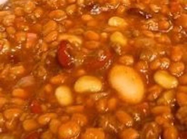 Aunt Ethel's Calico Beans Recipe