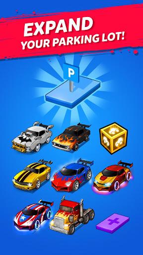 Merge Battle Car: Best Idle Clicker Tycoon game filehippodl screenshot 2