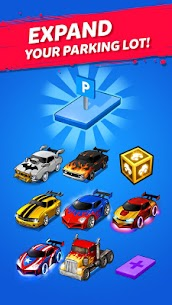 MERGE BATTLE CAR MOD APK BEST IDLE CLICKER TYCOON GAME DOWNLOAD FREE 2