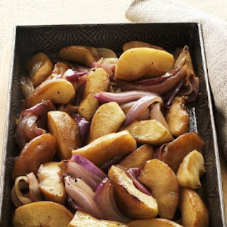 Balsamic Roasted Apples and Onions