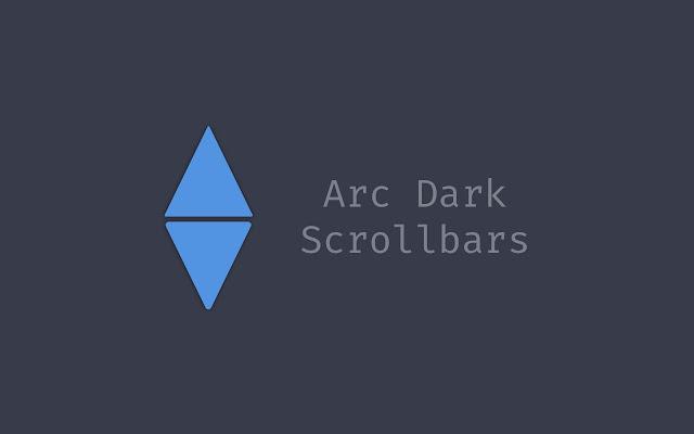 Arc Dark Scrollbars