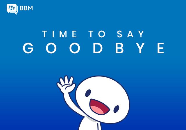 Goodbye BBM, Blackberry Messenger Resmi di Tutup 31 Mei 2019