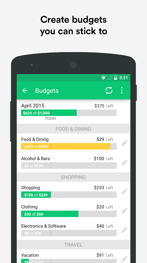 Mint: Personal Finance & Money - screenshot