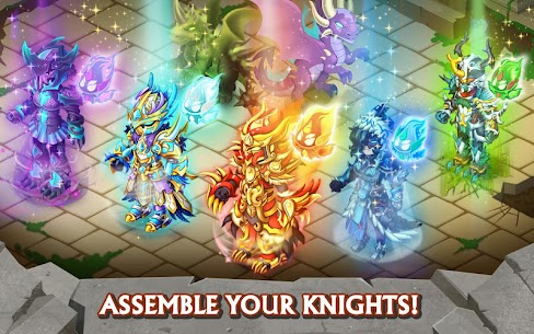 Knights & Dragons MOD APK  (Unlimited Money)  ⚔️ 3