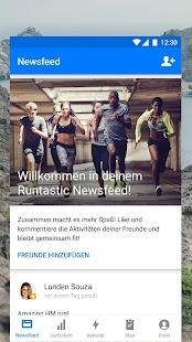 Runtastic Laufen, Joggen und Fitness Tracker Screenshot