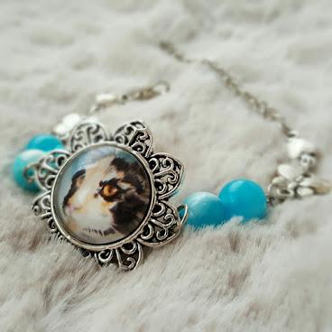 貓貓手繪首飾 ♡ 美術手鍊 ♡ Art Jewelry