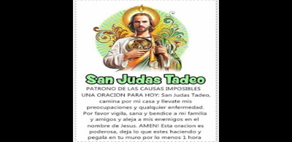 Download San Judas Tadeo Oraciones Bonitas Apk Latest Version App