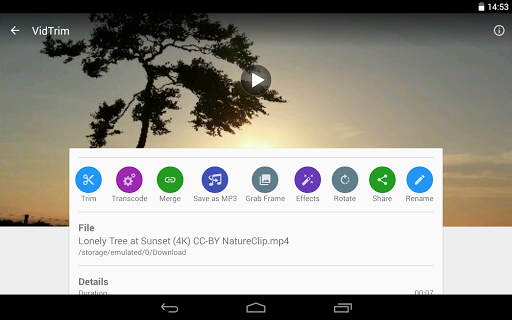 VidTrim  Video Trimmer  screenshot 11