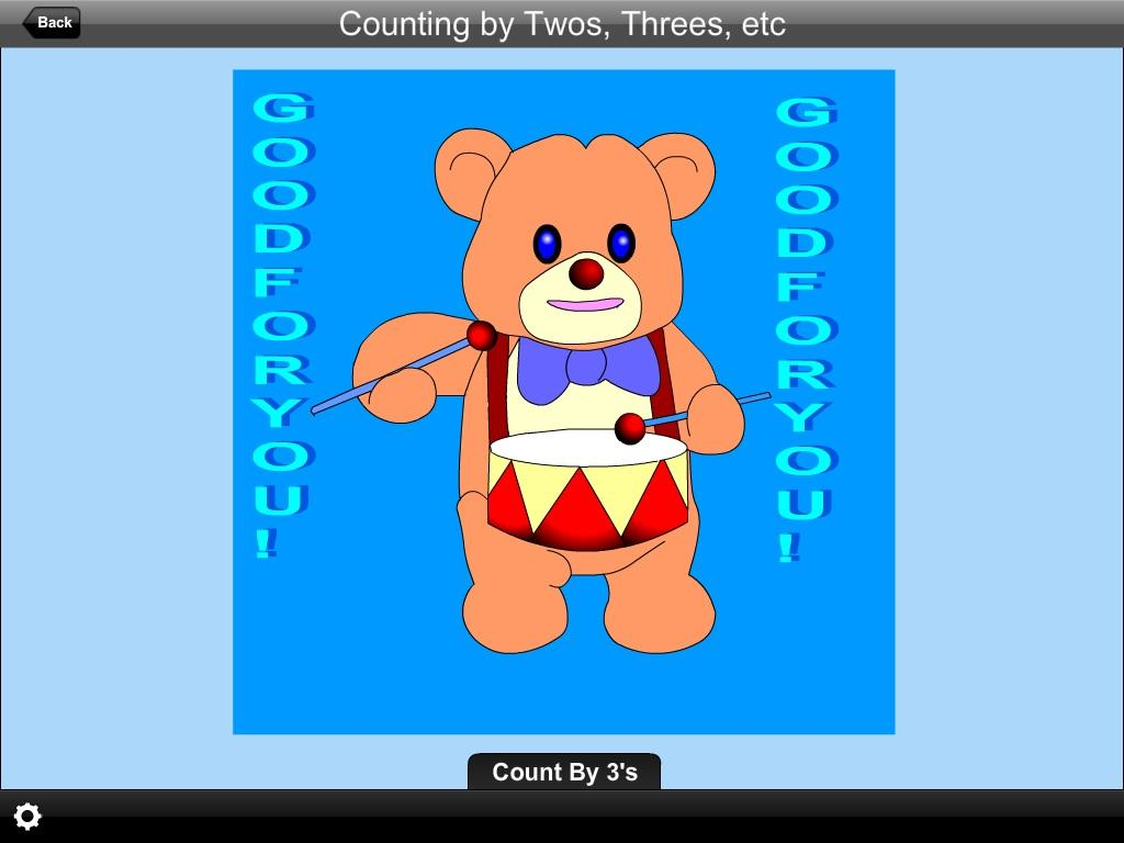 Counting by 2s, 3s, etc Lite- screenshot