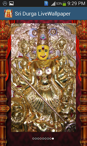 Sri Durga Live Wallpaper