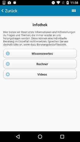 android N B A Freising Steuer App Screenshot 2