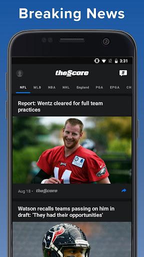 theScore: Live Sports Scores, News, Stats & Videos 6.24.1 screenshots 5