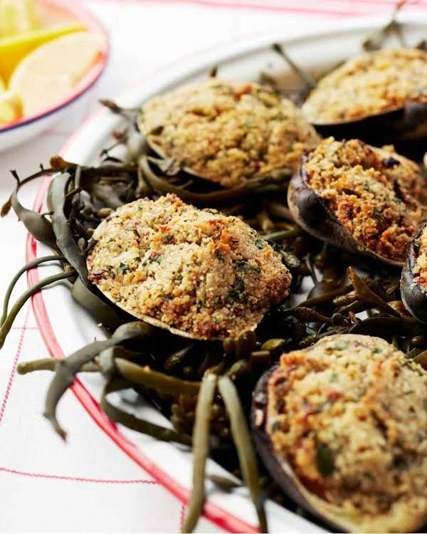 Baked Stuffed Clams Recipe