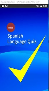 Spanish Language Quiz- screenshot thumbnail