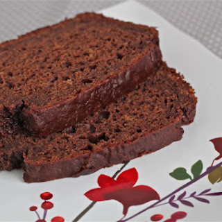 Chocolate-strawberry Quick Bread