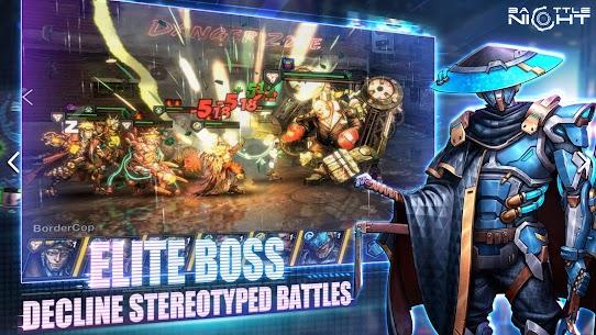 Battle Night: Cyber Squad MOD (One Hit/God Mode) 1