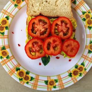 Avocado Tomato Sandwich Recipe
