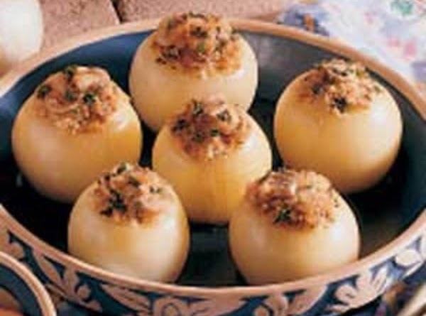 Baked Stuffed Onions Recipe