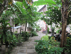 Photo: Year 2 Day 21  -   The Courtyard of our Hotel (Hai Yen) in Mui Ne (Leading to the Pool)