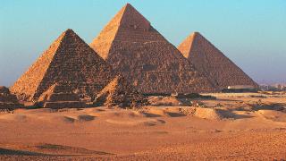 image of the pyramids