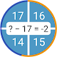 screenshot of Cool math games: arithmetic & multiplication table
