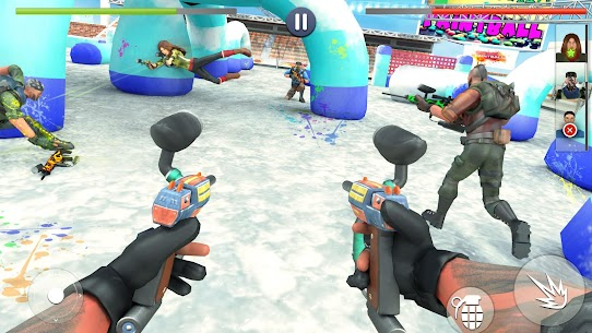 Paintball Shooting Squad: Battleground Army Combat Apk Download For Android and Iphone 3
