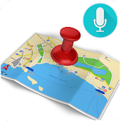 Voice Navigation Driving Route