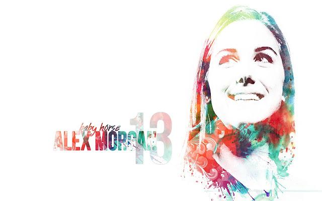 Alex Morgan Themes & New Tab