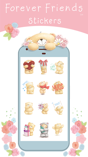 Screenshot for Forever Friends Stickers in Hong Kong Play Store