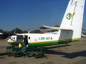 Photo: Katmandu : Départ pour Lukla