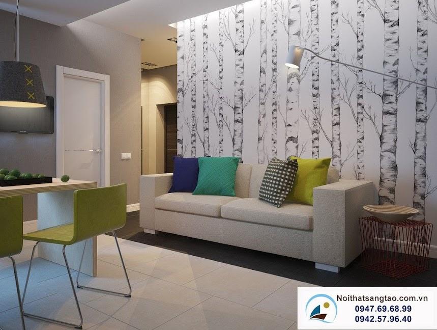 thiết kế căn hộ cho vợ chồng trẻ