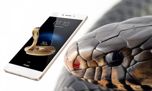 snake on screen - náhled