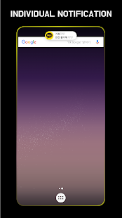 EDGE MASK - edge lighting & rounded corners S8, S9 Screenshot