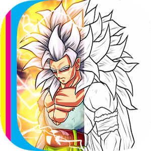 Coloring Super Saiyan for PC and MAC