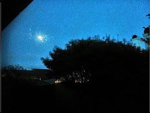 Photo: Moon at New House