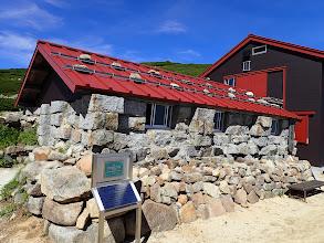 西駒山荘石室