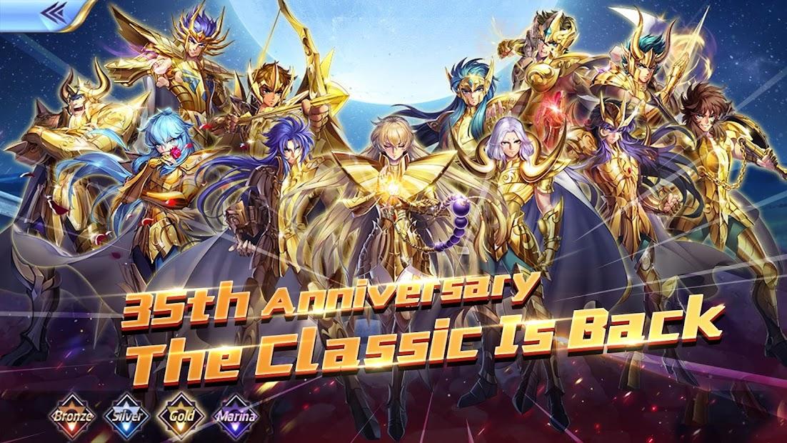 Saint Seiya Awakening: Knights of the Zodiac Android App Screenshot