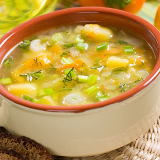 Comforting Summer Soup For Vata Dosha.
