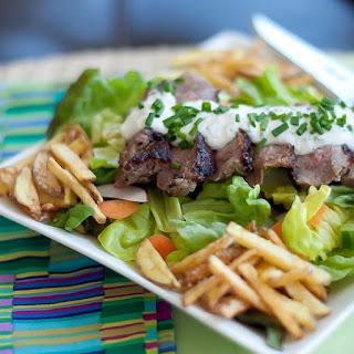 Steak Salad Pommes Frites Recipe
