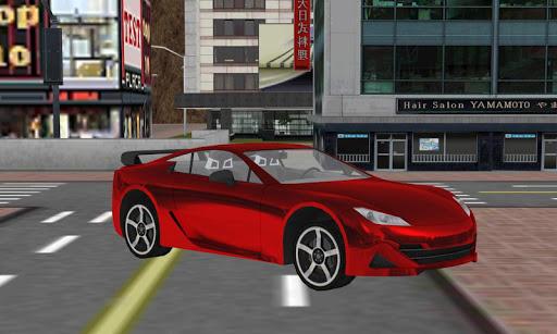 sim 3Dを駆動する実際のロボット車