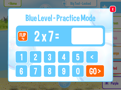 Squeebles Flip Multiplication- screenshot thumbnail
