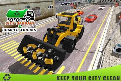 City Garbage a nákladní auta - náhled