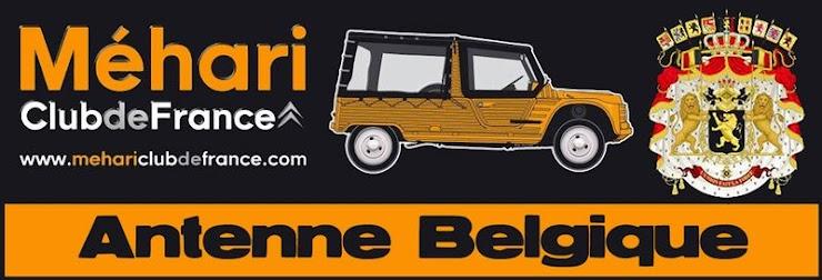 MEHARI CLUB DE FRANCE - ANTENNE BELGIQUE