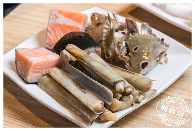 饗麻饗辣鮭魚蛤蜊