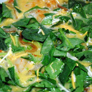 Smoky Spanish Frittata with Spinach and Red Potatoes