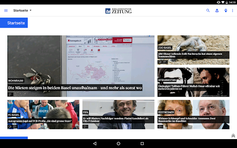 bz Basellandschaftliche News screenshot 5