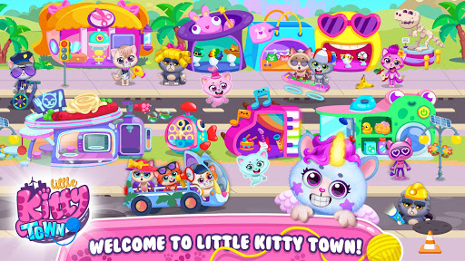 Little Kitty Town - Collect Cats & Create Stories  screenshots 4