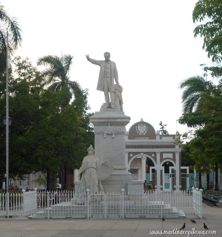 Main square in Cienfuegos, Cuba