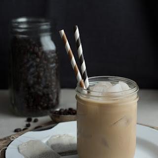 Dirty Chai Tea Latte.